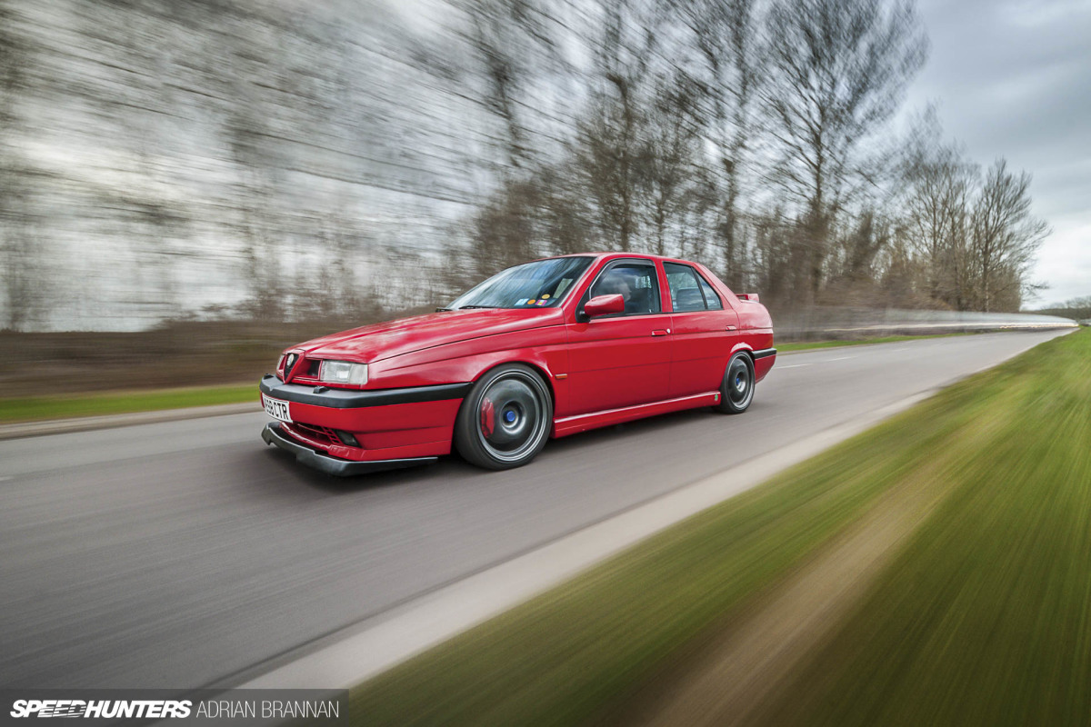 Going The Distance: A 10-Year Alfa Romeo 155 Q4Project