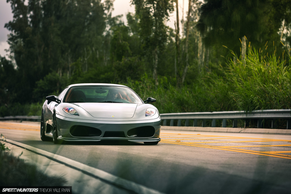 The Right Vibes: A Lightly Modified FerrariF430