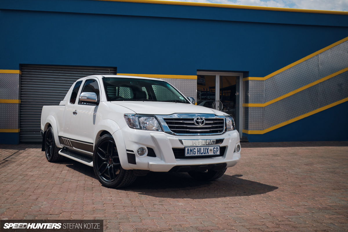 The Toyota Workhorse With An AMGHeart