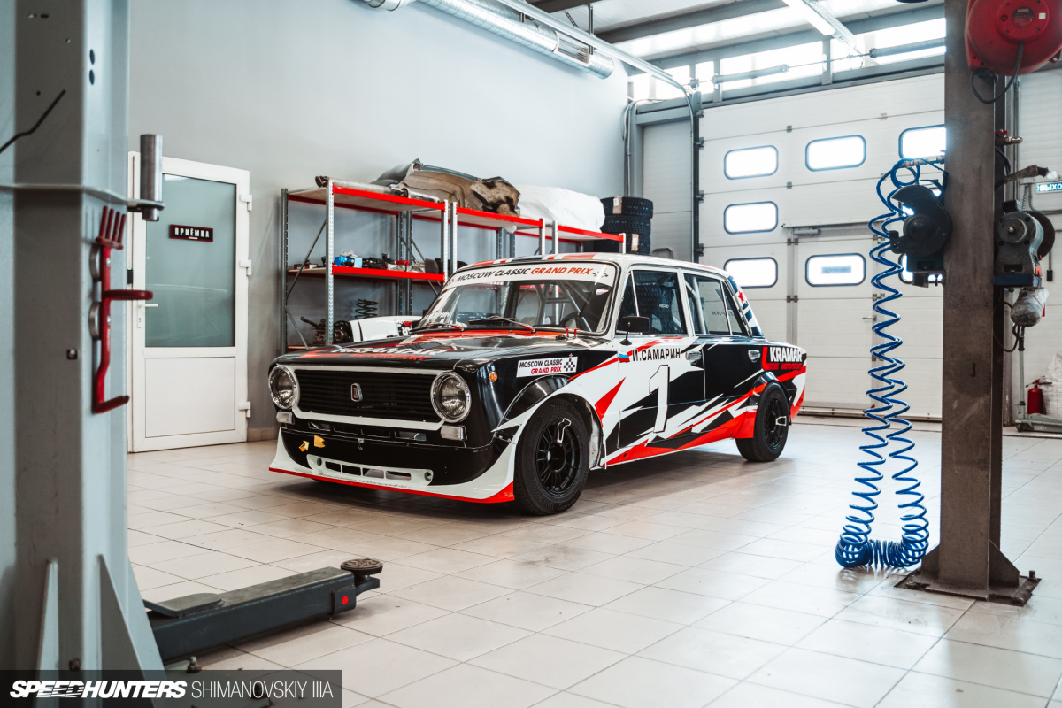 A VAZ-2101 For Modern-Day Classic Racing