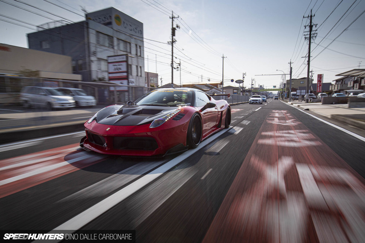 Silhouette Style: The Liberty Walk 458