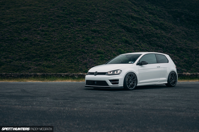2020 VW Golf R Donal Maher Speedhunters by Paddy McGrath-1