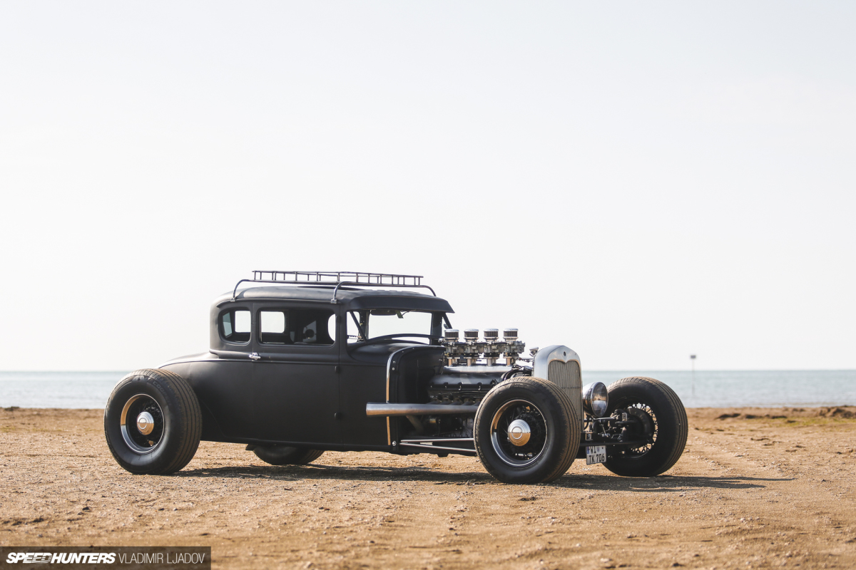 Uniting Nations: The 1930 Ford With A V12 GermanHeart