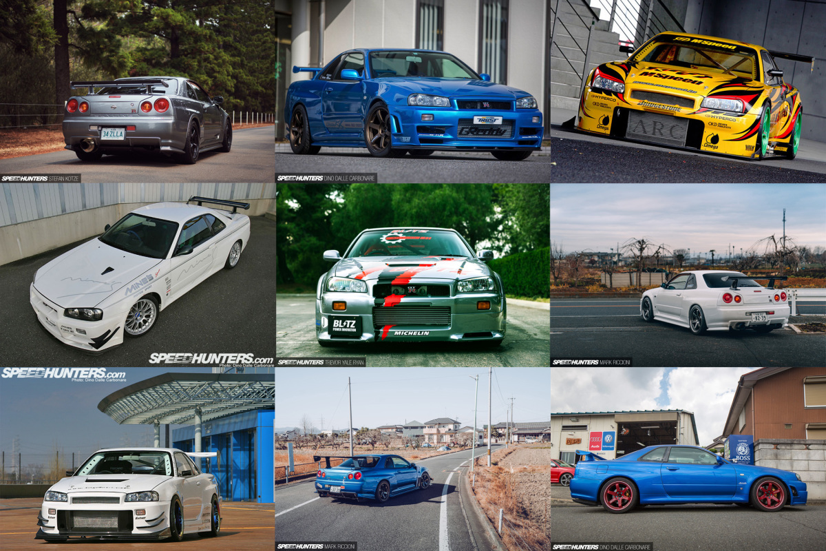 10 Of The Best: R34 GT-R Skylines