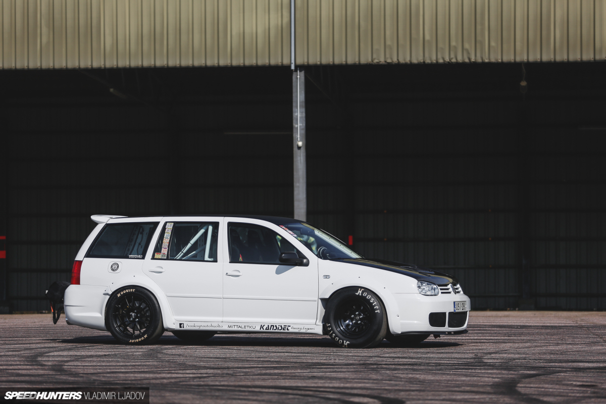 Practical Performance: An 850hp Golf Wagon