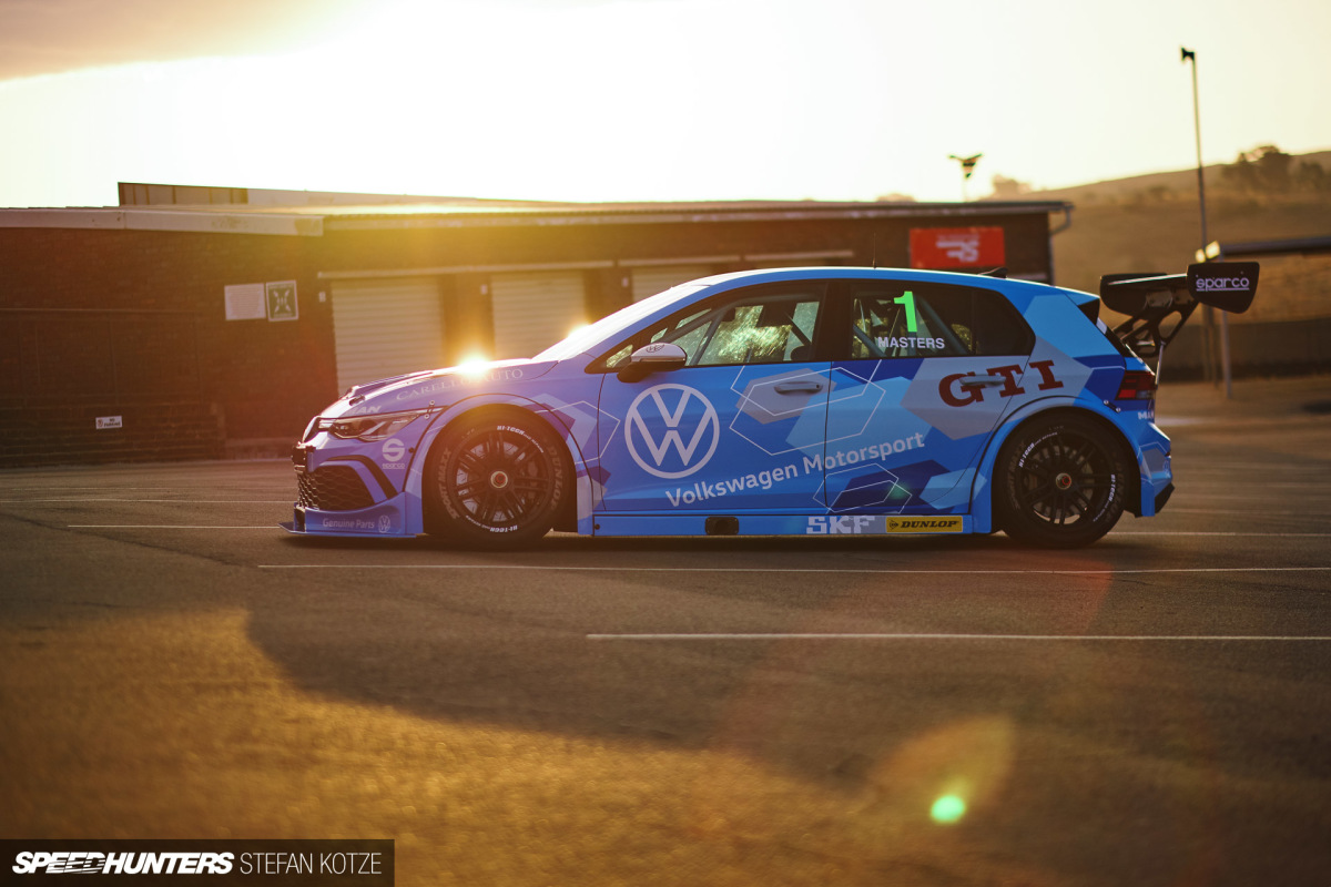 The World's First VW Golf 8 GTI Race Car IsHere