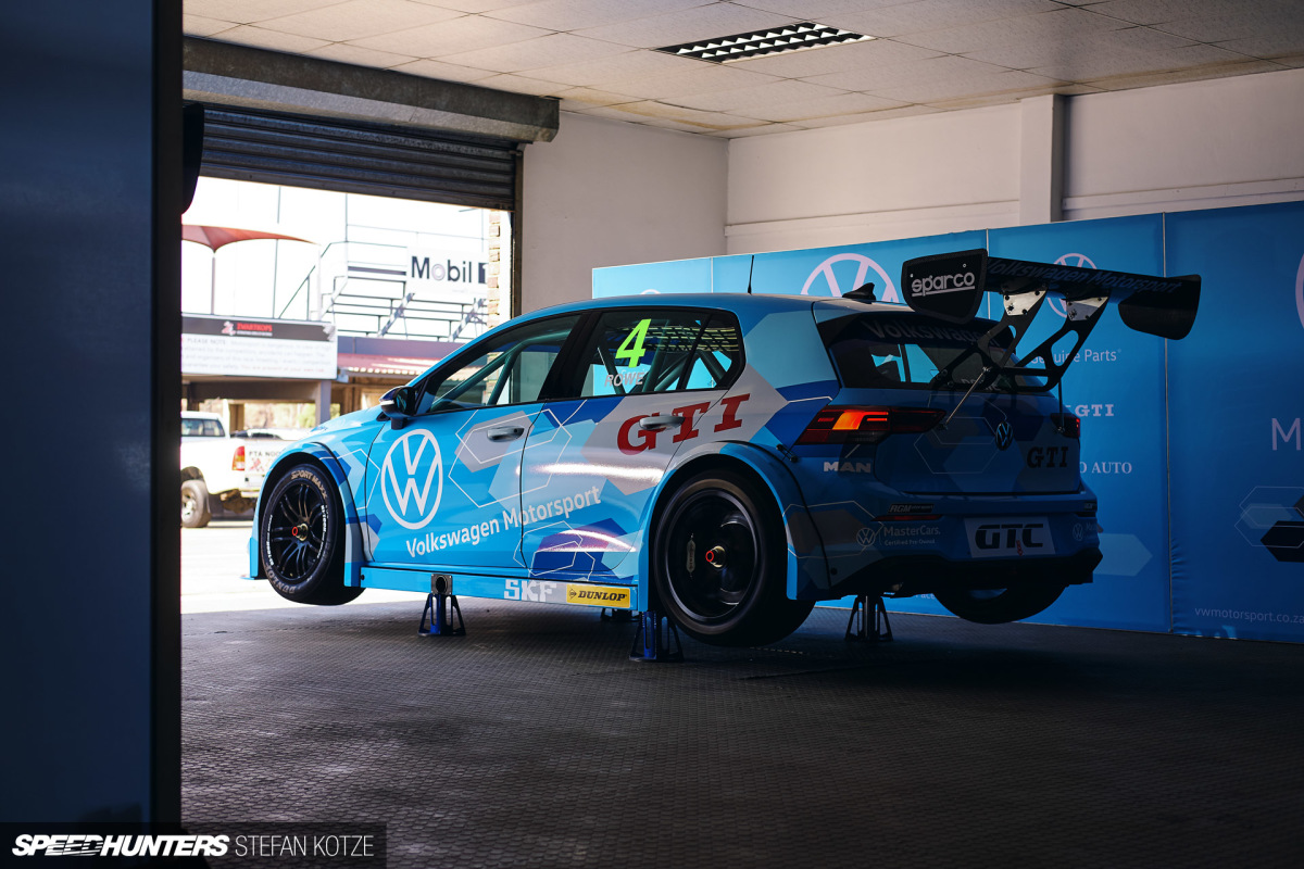 The World S First Vw Golf 8 Gti Race Car Is Here Speedhunters