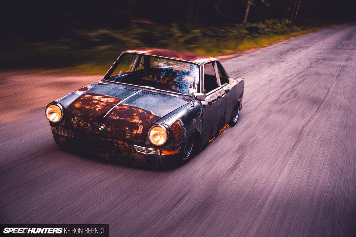 Rescued, Preserved & Slammed: John Ludwick Jr.'s BMW700