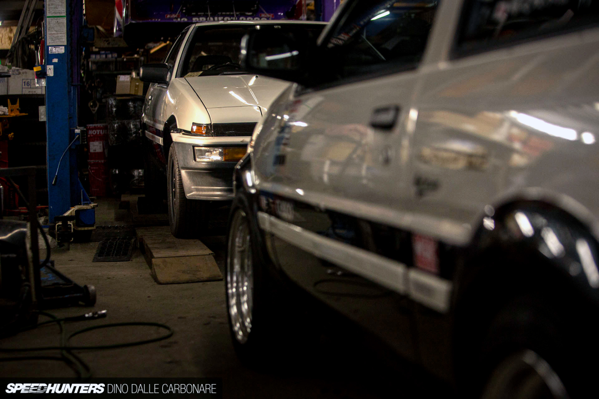 Talking AE86s With Tec-Art's