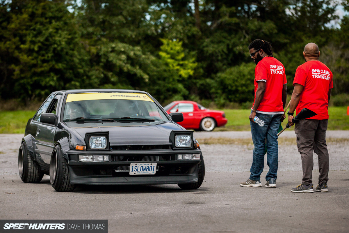 Setting The Wheels In Motion: Japanese Classic TrackDay