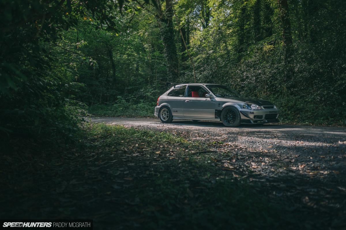 Boost Creepin' In A 500hp EK9 Civic TypeR