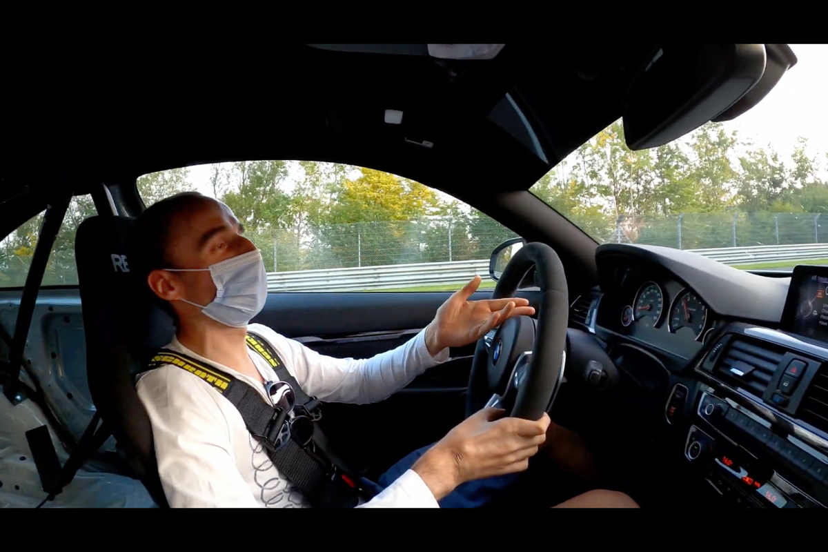 WATCH: F1 Driver Robert Kubica In A BMW M4 On The Nürburgring