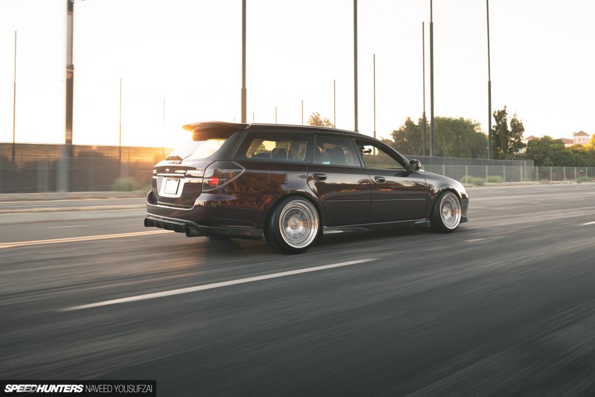 10,000 Miles In A 700hp Subaru Legacy SEMABuild