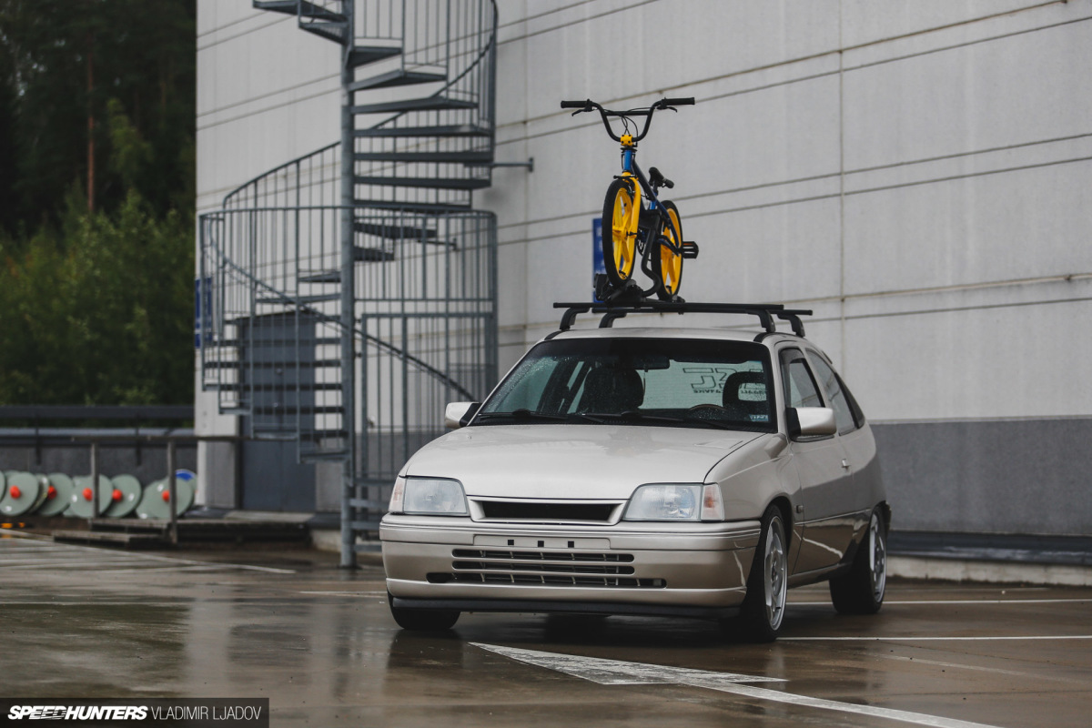 Back To The '90s In A Fully Rebuilt OpelKadett
