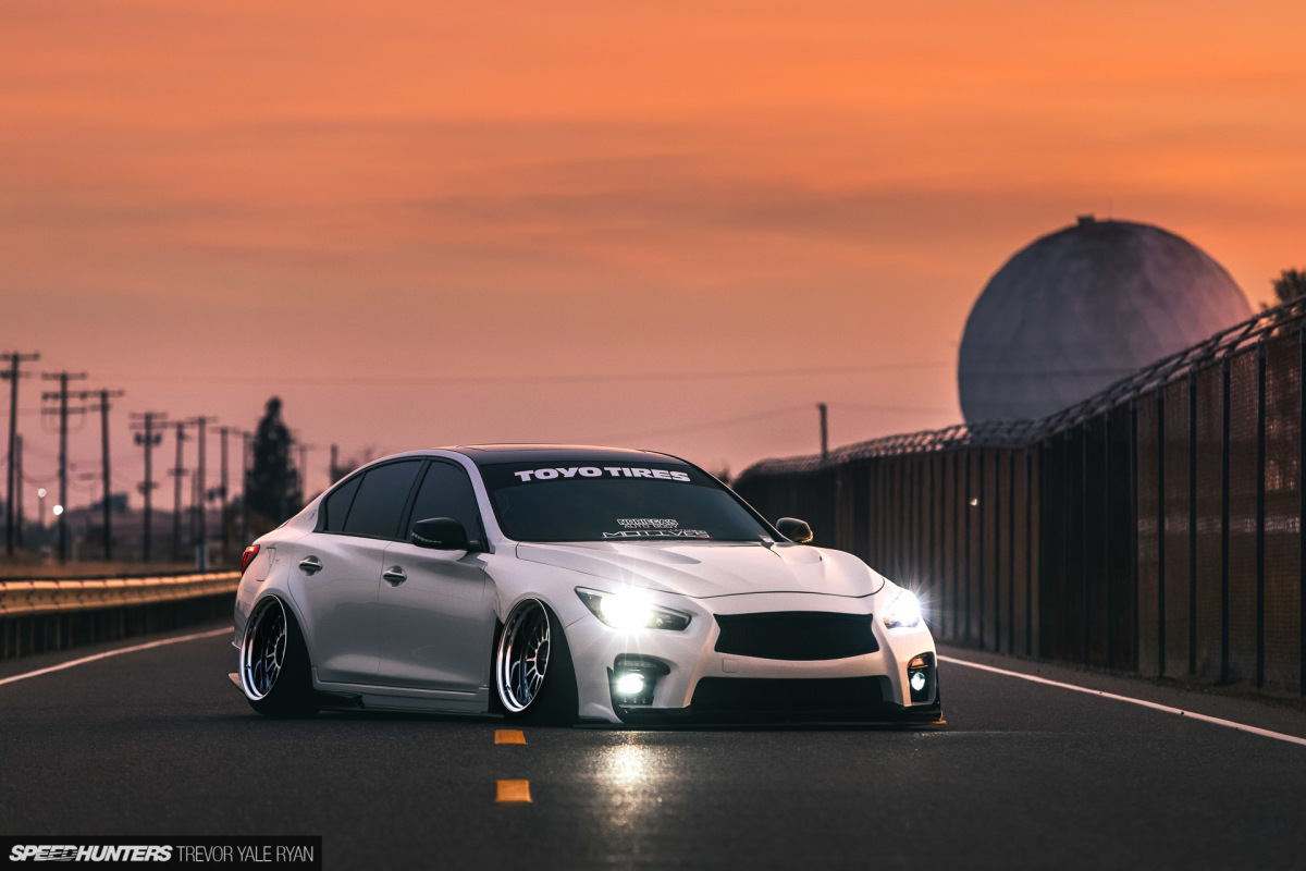 Killer Combo: An Infiniti Q50 On Air