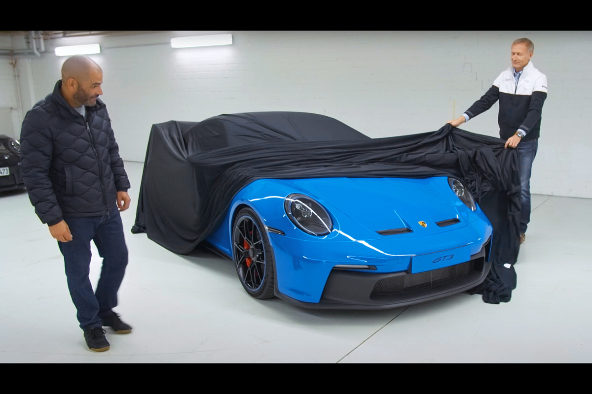 WATCH: Top Gear + Chris Harris x Andreas Preuninger = The New Porsche 992 GT3