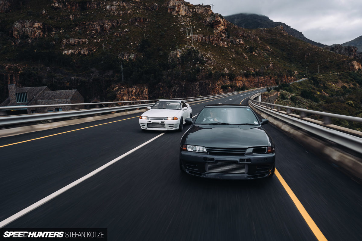 Two Brothers, Two Tuned GT-Rs & A Wet Day In The Mountains