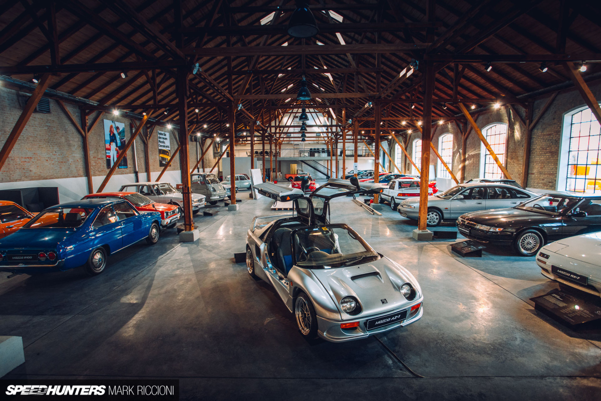 A Mazda History Lesson At Automobil MuseumFrey