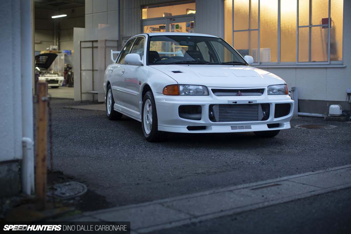 Preserving A Mitsubishi Lancer Evolution III