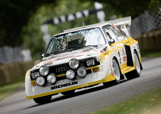 With Audi Tradition on the 2016 classic car tour