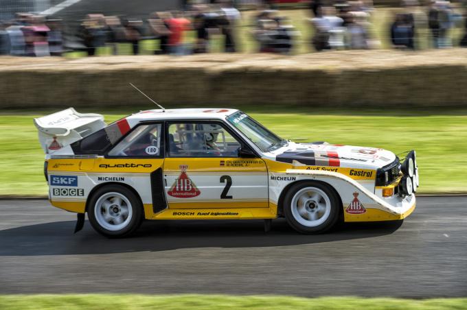 Audi beim Goodwood Festival of Speed 2012