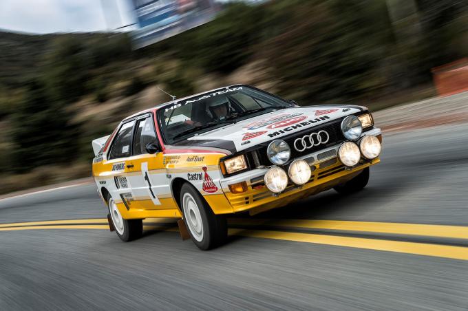 Audi Rallye-icons at the Eifel Rallye Festival 2014