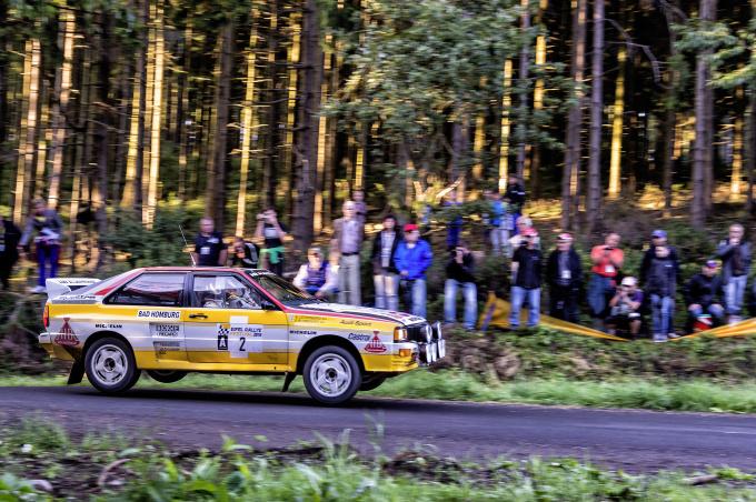 Audi Rallye-Ikonen beim Eifel Rallye Festival 2014