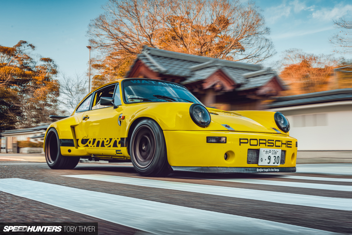 A Tough 911 RSR Homage On The Streets Of Japan