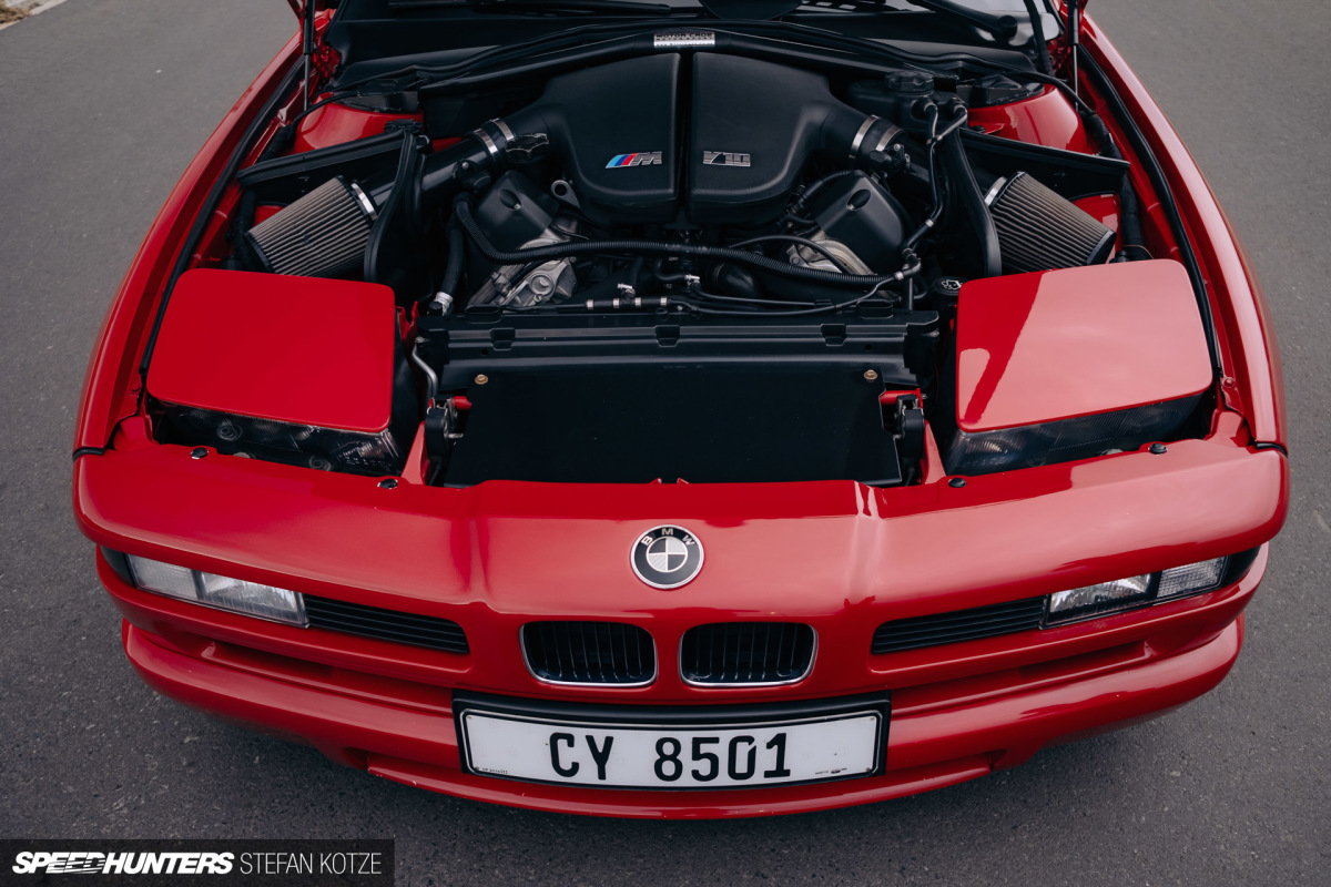 A BMW 850Ci That's Actually An E63 M6
