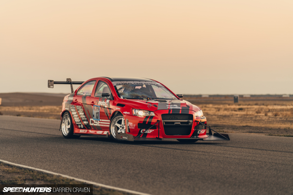 Cool Under Pressure: The CSF Evo Returns To Global Time Attack