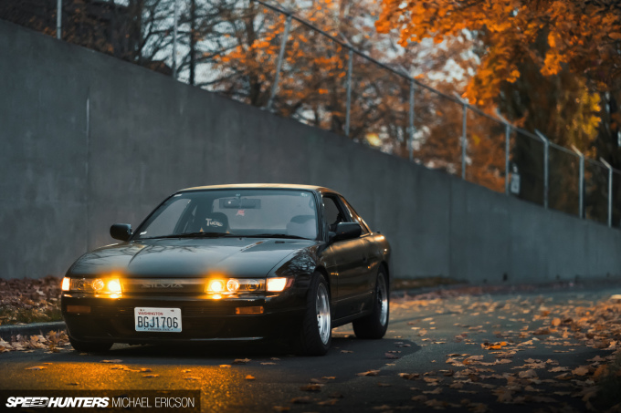 Speedhunters_Michael_Ericson_Julio near Leaves