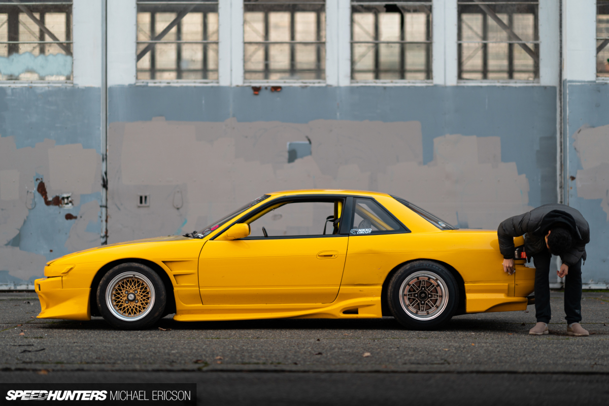 An Ever-Evolving Nissan Silvia S13