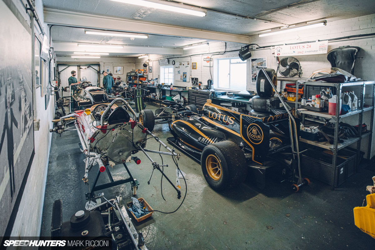 Preserving History For Future Generations: Inside Classic TeamLotus