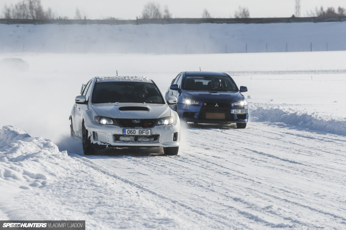 An Estonian Track Day… In A 5°F Freeze