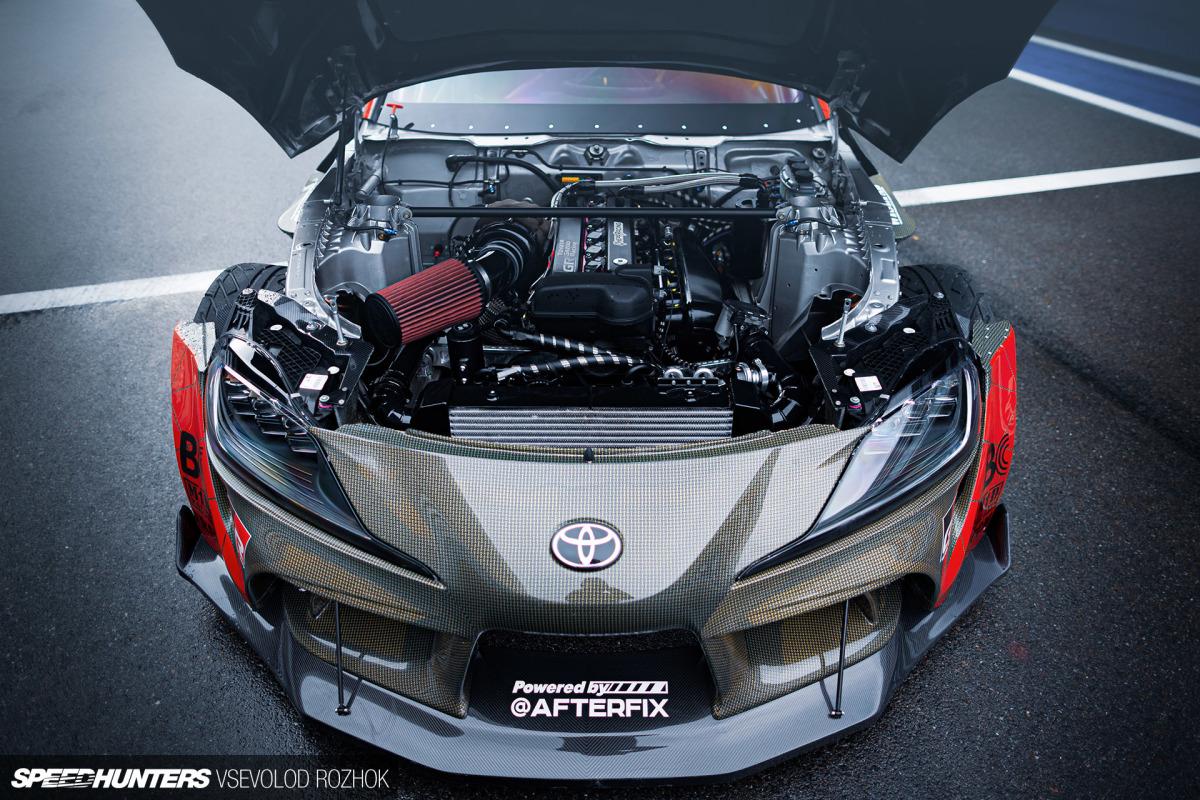 Alive & Drifting: HGK's 1,000hp, 2JZ-Powered A90Supra