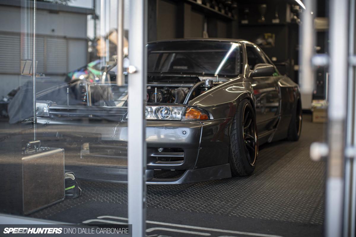 Daigo Saito's R32 Skyline Has A2JZ