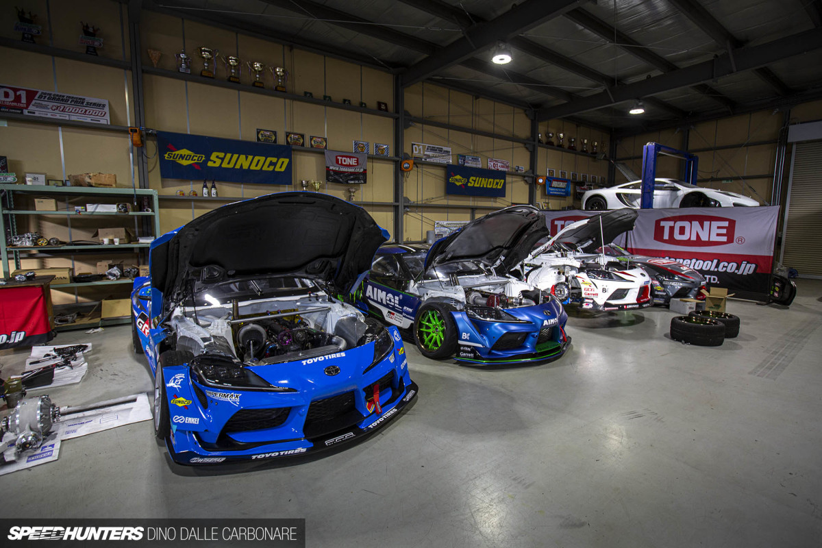 2JZ Everything: A Quick Stop At Fat Five Racing