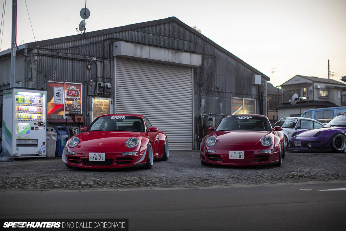 The RWB 997 Done Two Ways