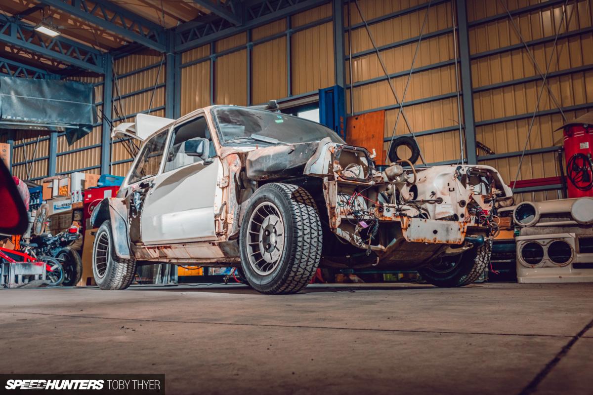 The Auto Project-D R5 Turbo Restoration StartsHere