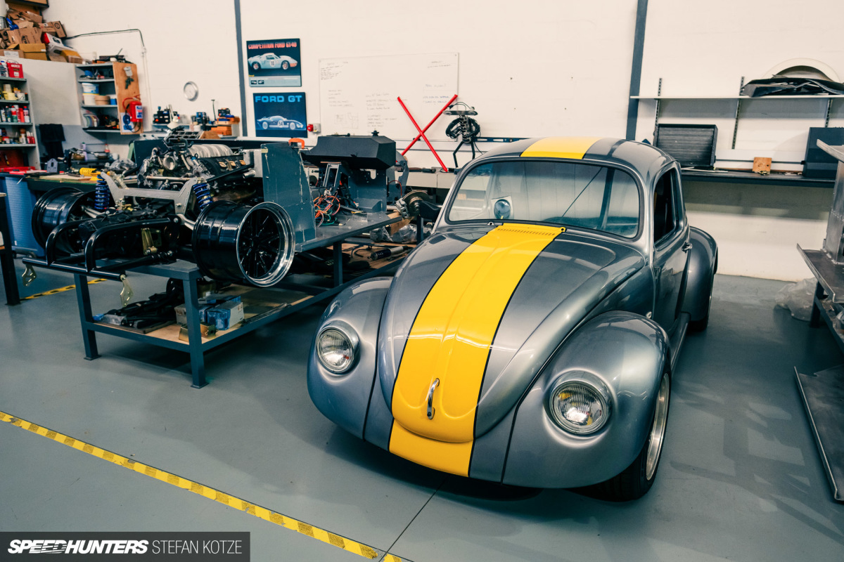 The Small South African Company Building 450hp Beetles