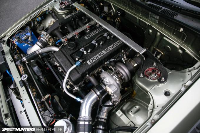 Speedhunters_Brandon_Miller_R30 engine bay