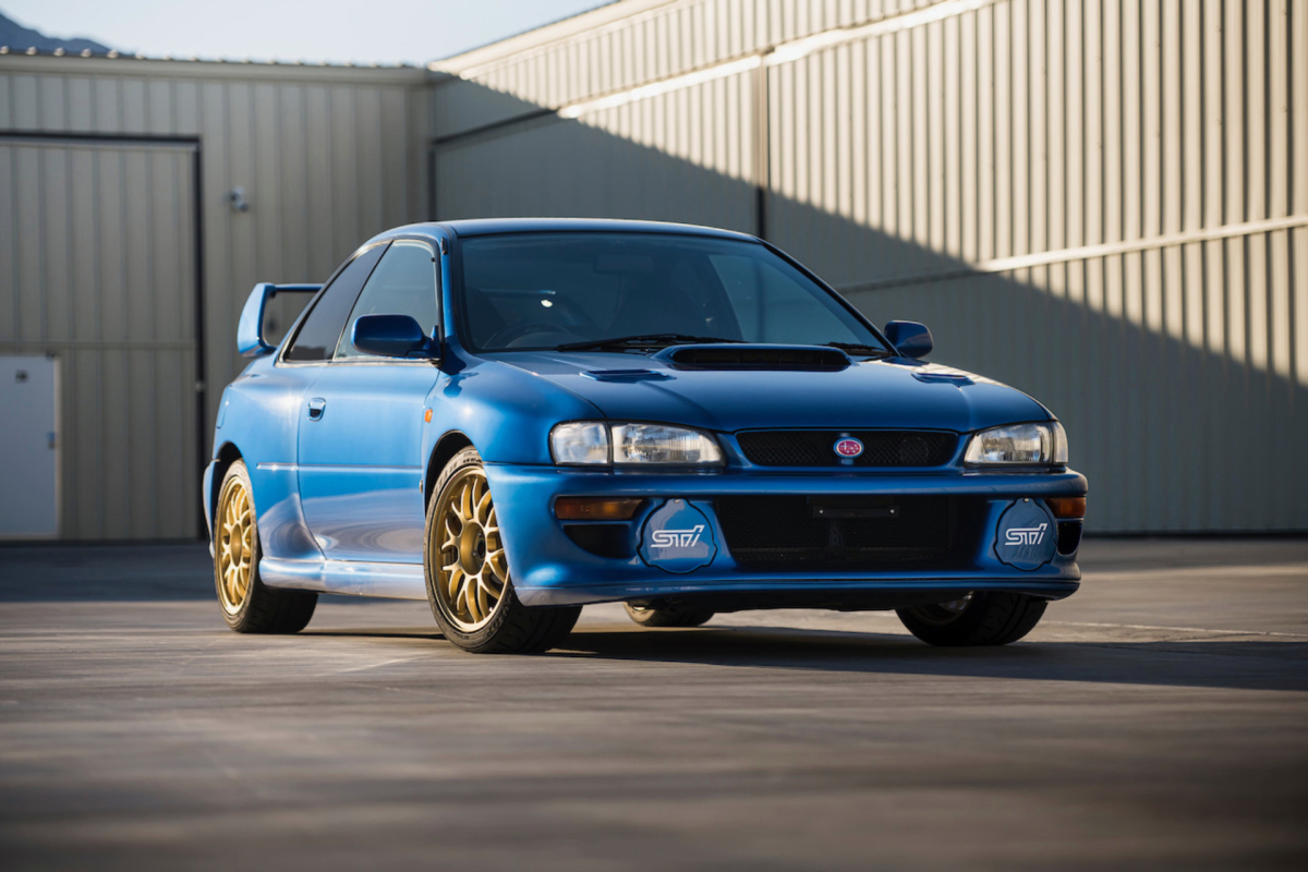 This 40,000km Subaru 22B Just Sold For$312,555
