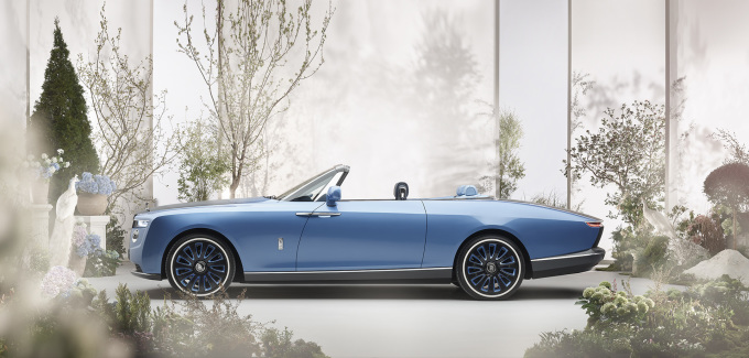 Rolls-Royce Boat Tail Side Profile Lifestyle