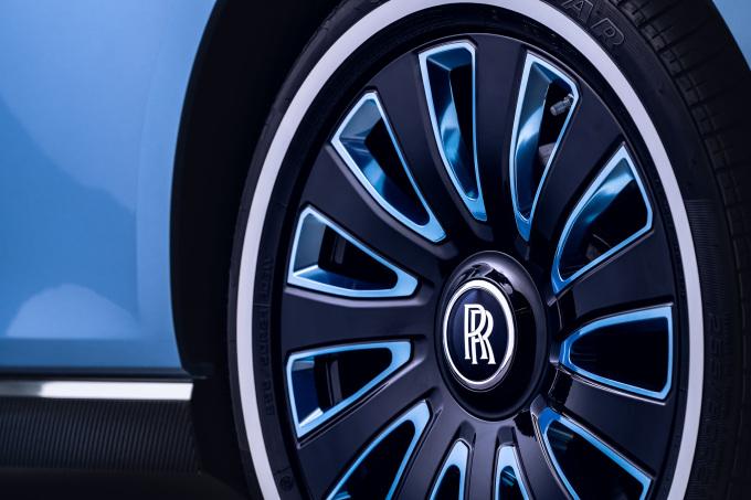 Rolls-Royce Boat Tail in Goodwood Wheel