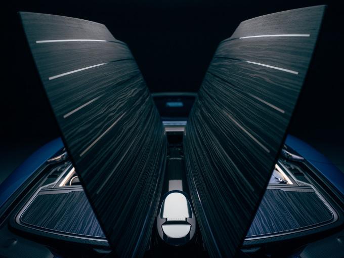 Rolls-Royce Boat Tail Hosting Suite rear