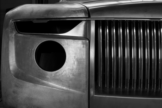 Rolls-Royce Boat Tail Formed Making Of 107