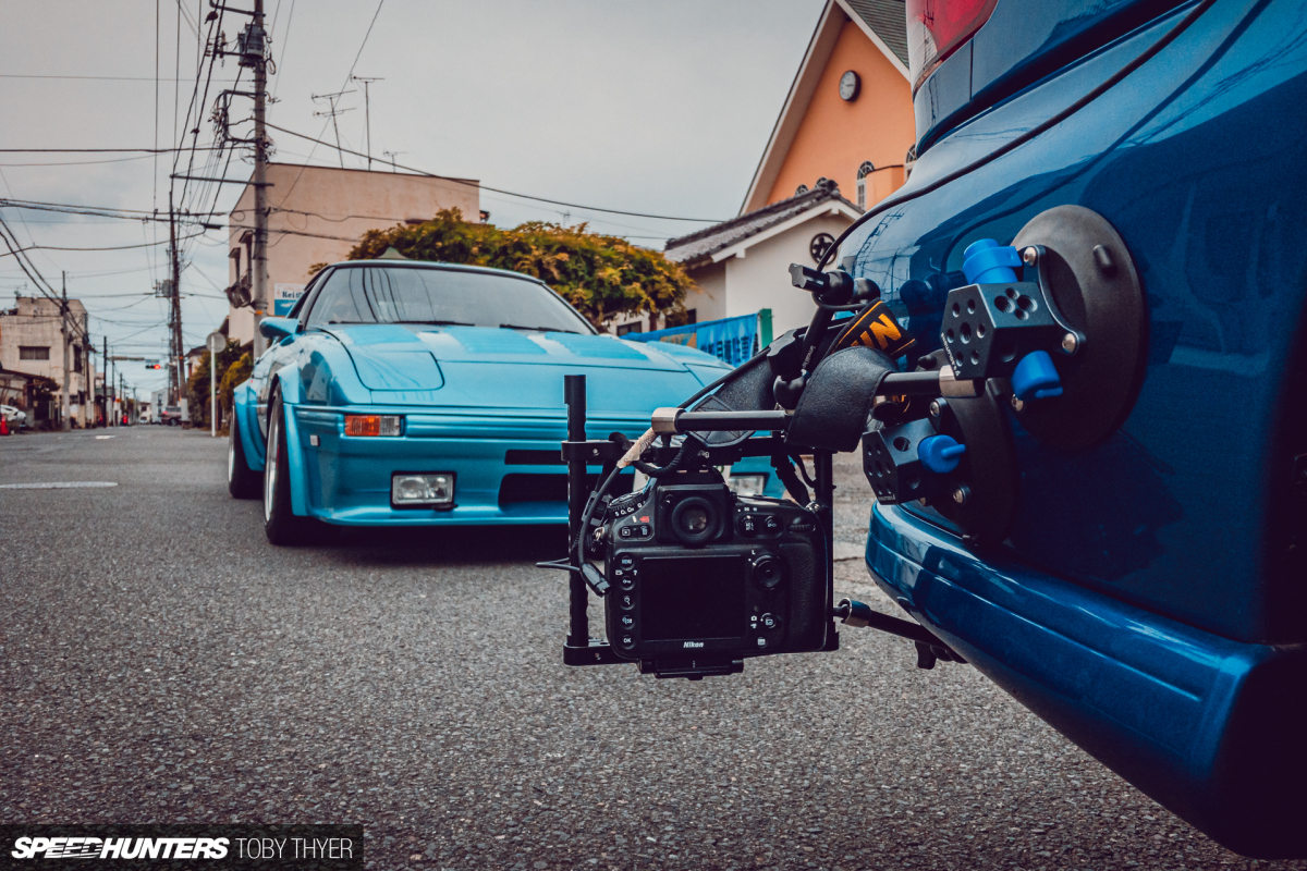 Speedhunters Garage: Building A Chase Car Camera Rig On ABudget