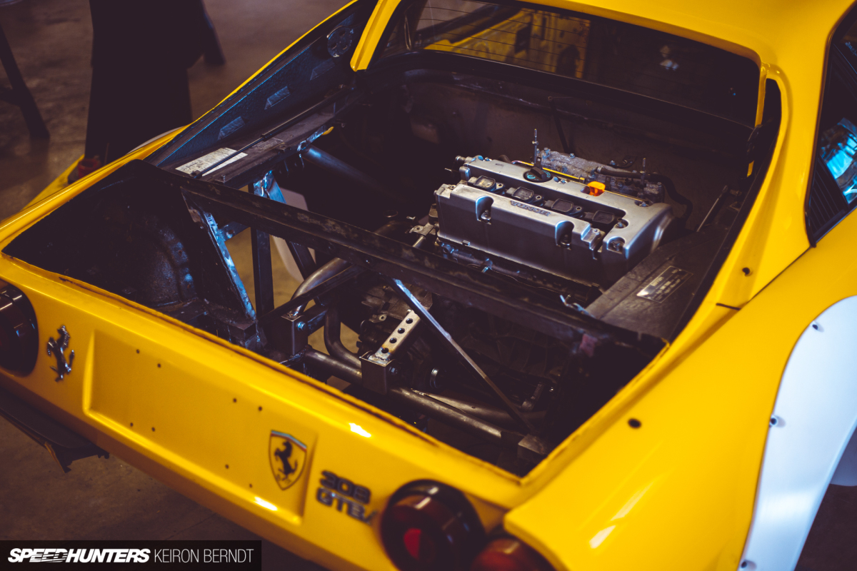 Cars Are Supposed To Be Fun: K-Swapping A Ferrari308