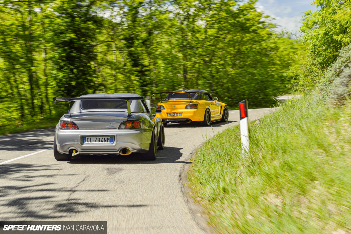 Heart & Soul: Two Honda S2000s FromItaly