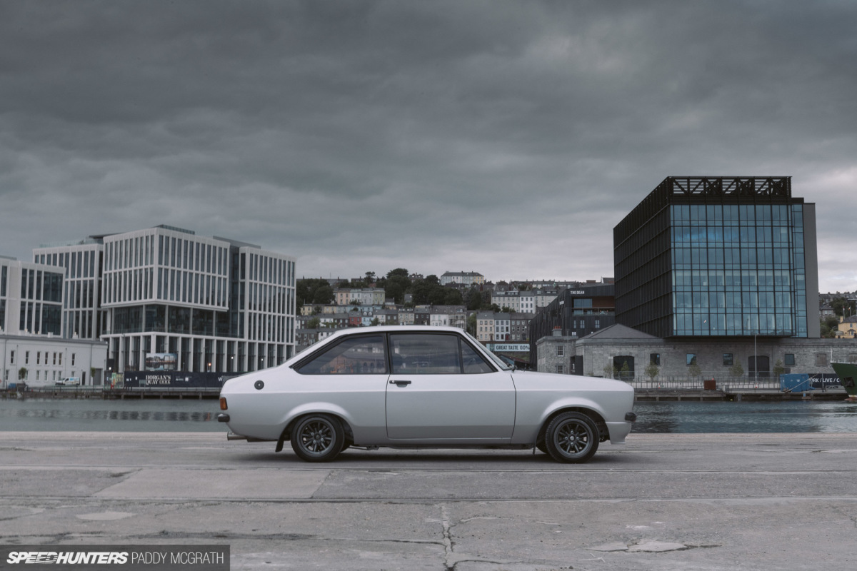 When Discretion Is King: A Cosworth-Powered Mk2Escort